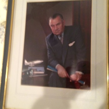 "LAWRENCE ""LARRY"" DALE BELL, FOUNDER OF BELL AIRCRAFT, ORIGINAL FABIAN BACHRACH PHOTO - Photographs"