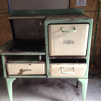 early 30s prosperity cook stove