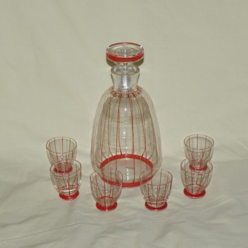 Liqueur Set Made in Czechoslovakia