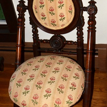 Victorian Folding Chair - Furniture