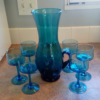 Blenco Pitcher with 6 glasses