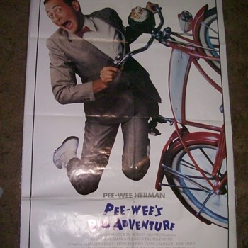 Pee Wee's Big Adventure - Posters and Prints