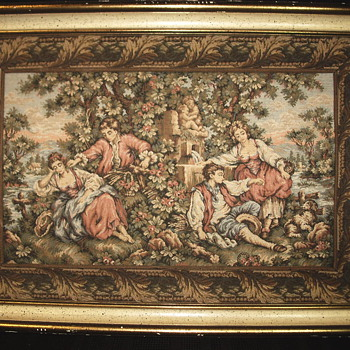 "Old Framed Tapisserie""1920-30"" - Visual Art"