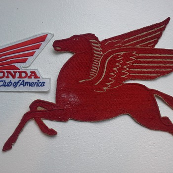 1950's Mobil Pegasus Jacket Patch - Petroliana