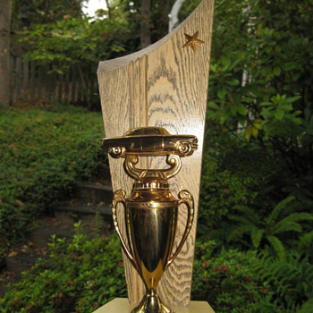 1950&#039;s Car Show trophy
