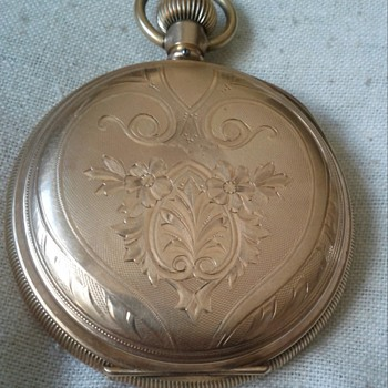 WALTHAM 14KT GOLD POCKET WATCH # ON INSIDE LID 510350  - Pocket Watches