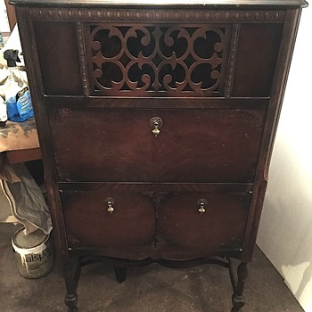 Antique music cabinet  - Furniture