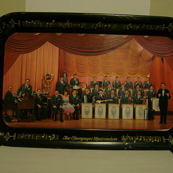Lawrence Welk Tin Tray