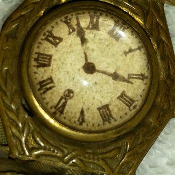 Old Toy Watch - Costume Jewelry
