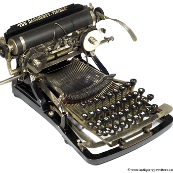 Daugherty typewriter - 1893