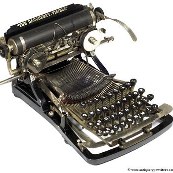 Daugherty typewriter - 1893 - Office