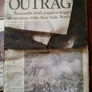 Atlanta Constitution -- September 12th 2011 --Remembering - Paper