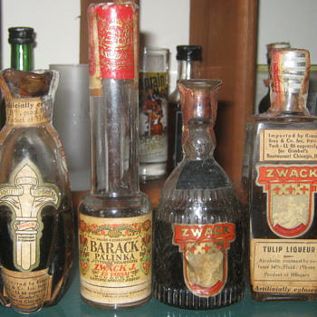 Old Zwack - Bottles