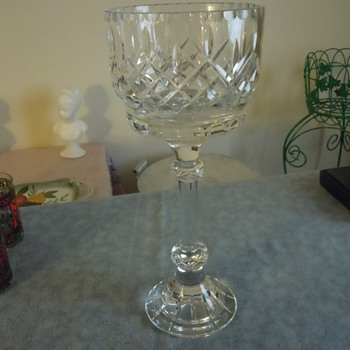 Large trophy style goblet unknown maker