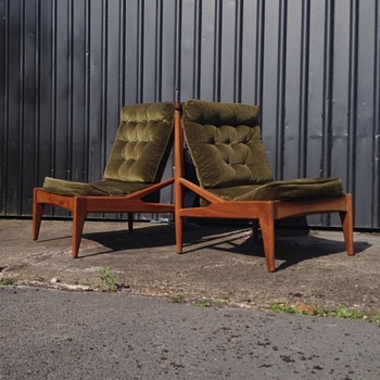 Danish Lounge chairs   need help identifying - Mid-Century Modern