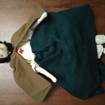 Vintage Looking Cloth Doll