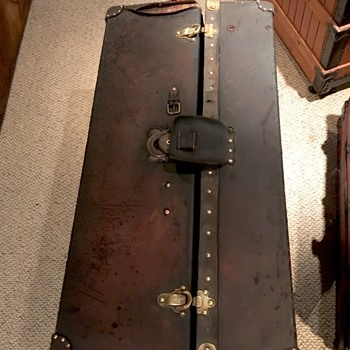 Louis Vuitton Men's Ideal Travel Trunk  - Furniture