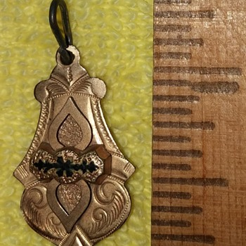 Unmarked Pendant with Crest? - Costume Jewelry