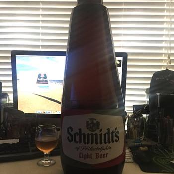 Schmidt's of Phila inflatable bottle - Advertising