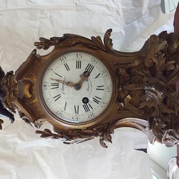 help identifying antique clock?  - Clocks
