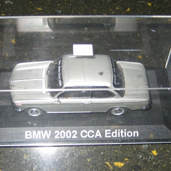 BMW 2002 1:45 Scale BMWCCA Silver Anniversary Edition