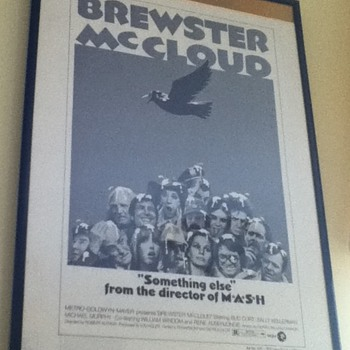 &quot;Brewster McCloud&quot; Press Book