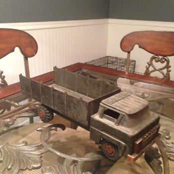 Marx Jeep Truck  - Toys
