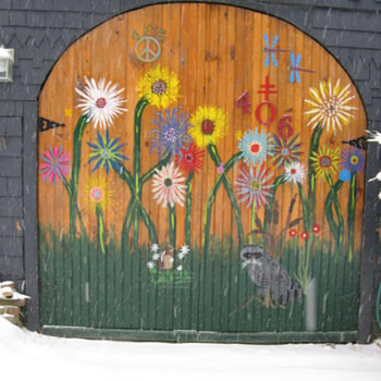 Barn Doors - Folk Art