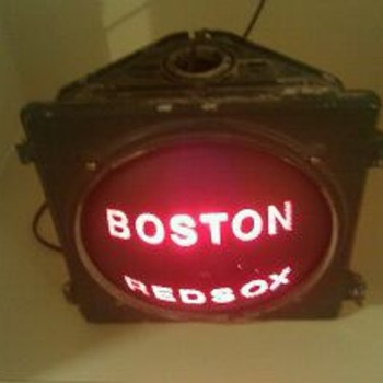 Boston Redsox street light??? - Baseball