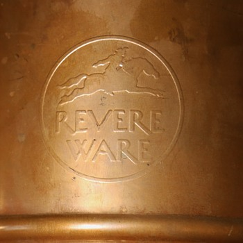 Very Large Revere Ware Commemorative Copper Can?