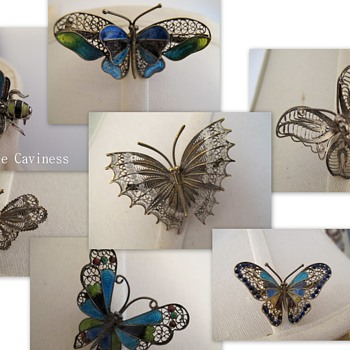 Scary  Butterflies!!! - Fine Jewelry