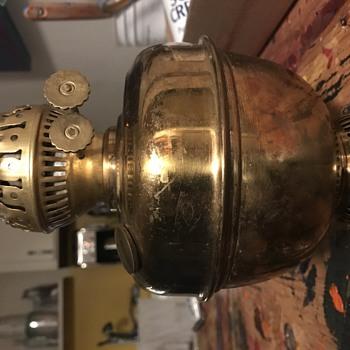 Goodwill Find - Duplex Brass Lamp