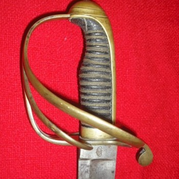 Early or Mid-19th Century German Made Sword - Military and Wartime