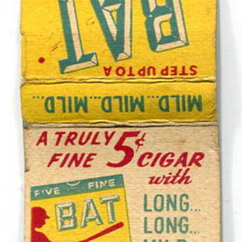 Old Matchbook Covers... - Tobacciana