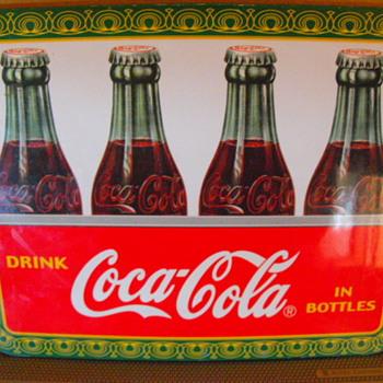 Small coca cola plaque - Coca-Cola