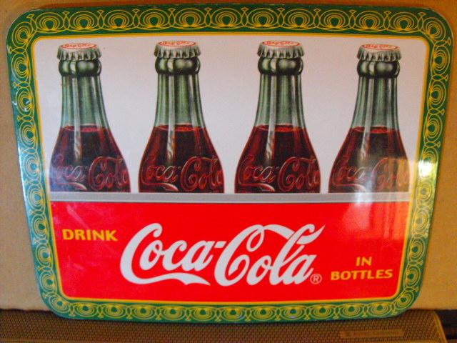 small coca cola plaque collectors weekly. Black Bedroom Furniture Sets. Home Design Ideas