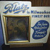 antique beer sign
