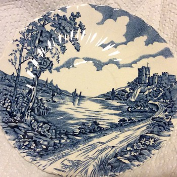 British old saucer - China and Dinnerware