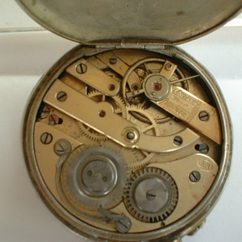 Cylindre Remintoir pocket Watch - Military and Wartime