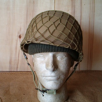 Gulf War era Saudi Arabia Export  M1 Steel Helmet from Taiwan - Military and Wartime