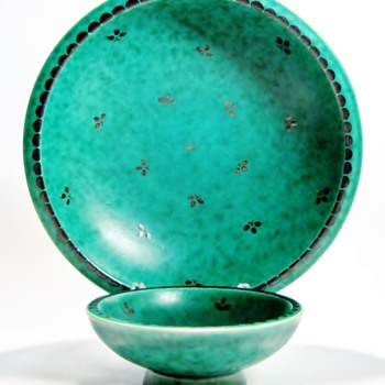 WILHELM KAGE (1889-1960)  FOR GUSTAVSBERG - SWEDEN - Pottery