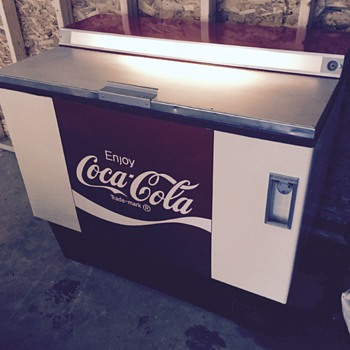 1960ish ? Just had refinished - Coca-Cola