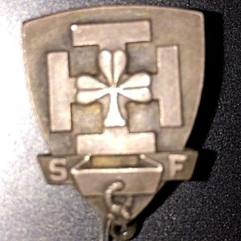WWII pin I found in my dad's box I have no idea what this pin is!