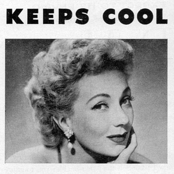 1952 - Ann Sothern for Fedders Air Conditioners - Advertisement