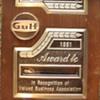 GULF 25-YEAR SERVICE AWARD