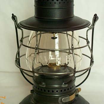 Lehigh Valley Railroad Lantern