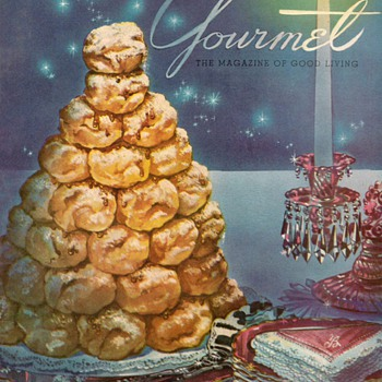 1953 - Gourmet Magazine Cover