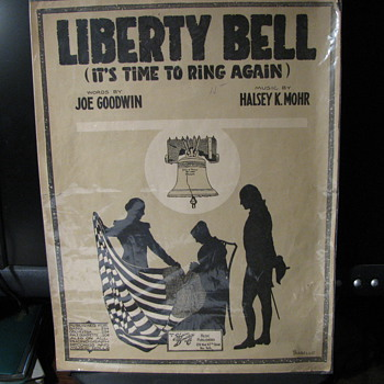 Liberty Bell (It's time to ring again) -- Sheet Music - Music
