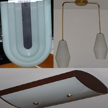 Mid Century Modern / Art Deco reproduction - Lamps