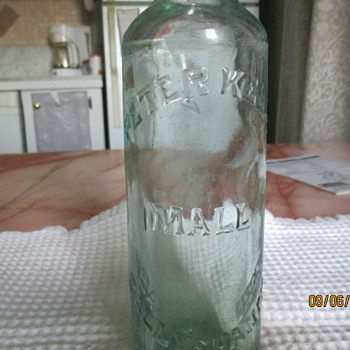 Vintage Blob Top Bottle